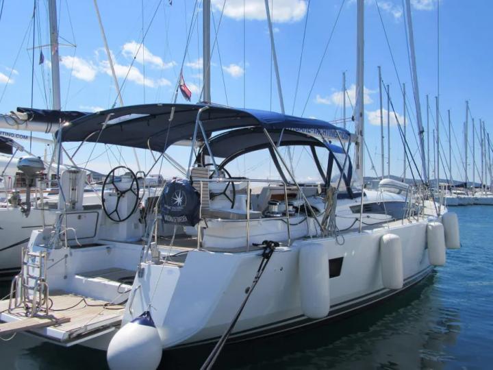 Boat rental for 8 guests in Dubrovnik, Croatia - the Madonna of Sweden boat.
