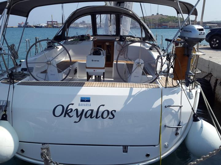 A great boat for rent - discover the Cyclades from Lavrio, Greece - book a yacht charter holiday.