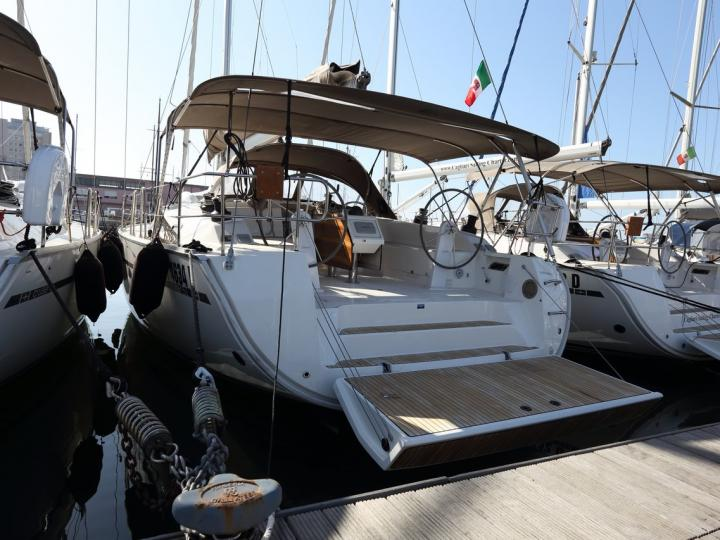 Charter a sail boat in Cagliari, Italy - a perfect vacation on a rent boat for up to 10 guests.