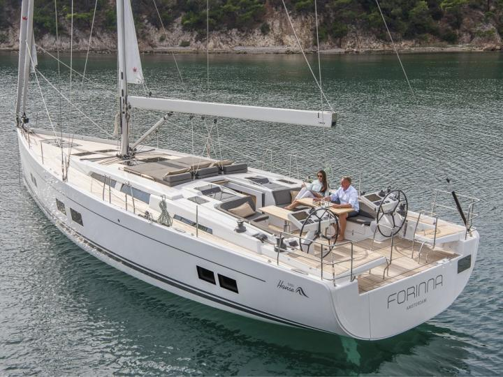 New 56ft yacht charter in Split, Croatia - rent a boat and sail the Adriatic.