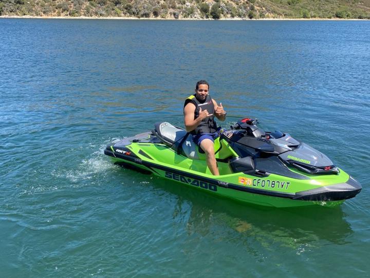 Sea doo three seater with Bluetooth music