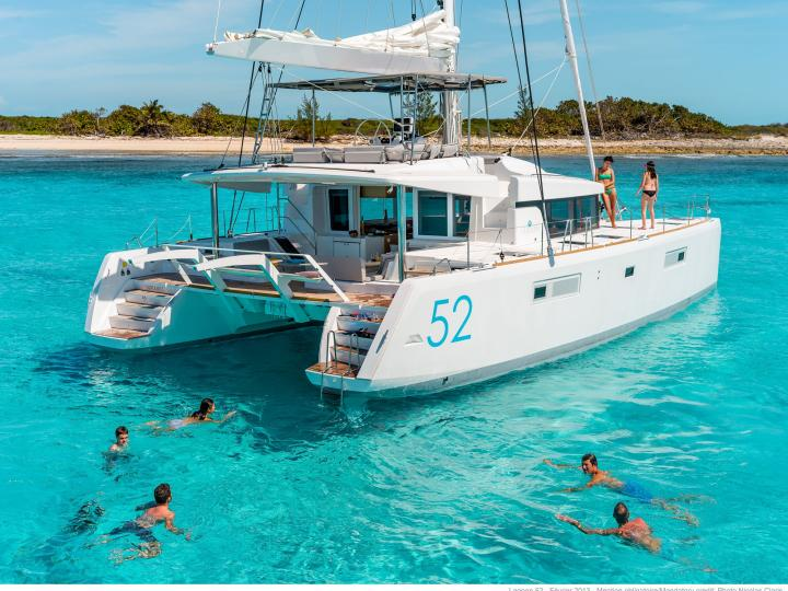Great boat rental in Athens, Greece - rent a catamaran for up to 10 guests.