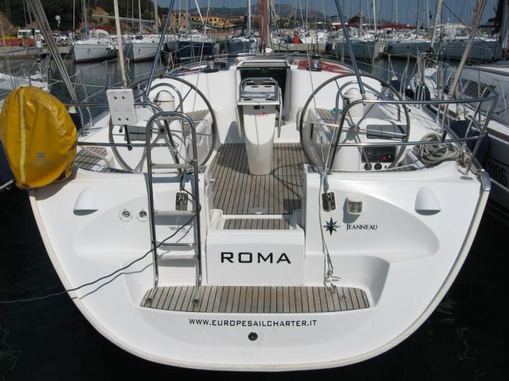 Sailboat for rent in Cagliari, Italy for up to 8 guests - the Roma yacht charter.