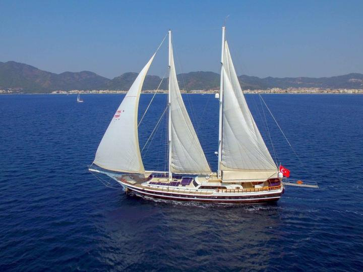 A great boat for rent - discover all Marmaris, Turkey  aboard a power boat.