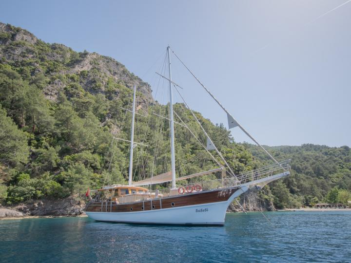 Top Gulet rental rental in Fethiye, Turkey for up to 10 guests.