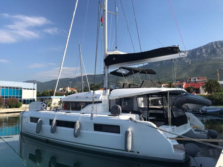 Sail on a beautiful 51ft catamaran for rent in Split, Croatia - the ultimate vacation trip on a yacht charter.