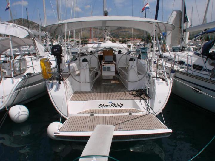 Top yacht charter in Trogir, Croatia - rent a sail boat for up to 6 guests.