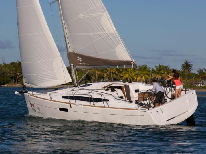 Yacht charter in Adriatic waters of Croatia - a 6 guests sail boat for rent.
