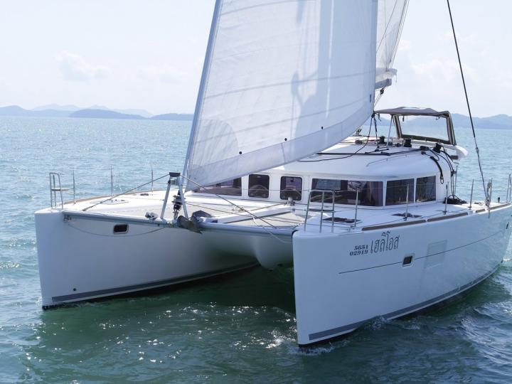 A great boat for rent - discover all Tambon Pa Klok, Thailand can offer aboard a catamaran.