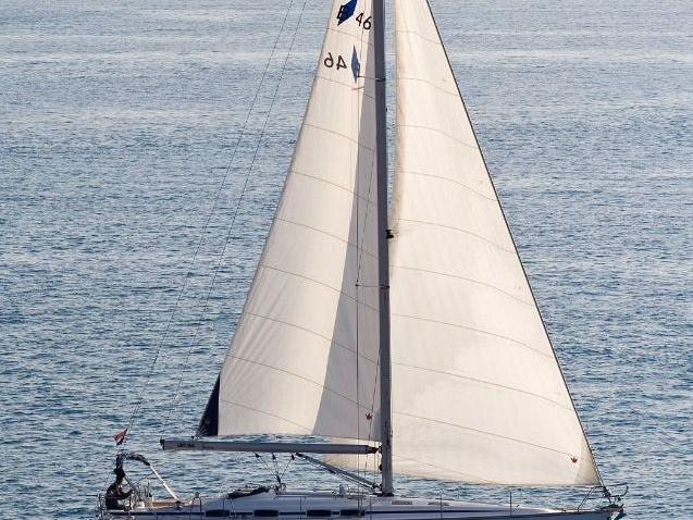 Private sail boat in Split, Croatia for up to 8 guests.