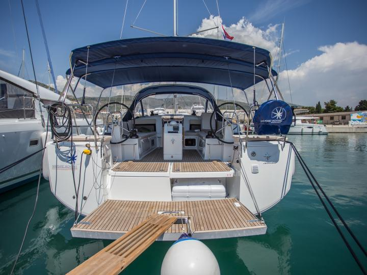 Very special sailboat rental in Seget Donji, Croatia - charter a yacht for up to 8 guests.
