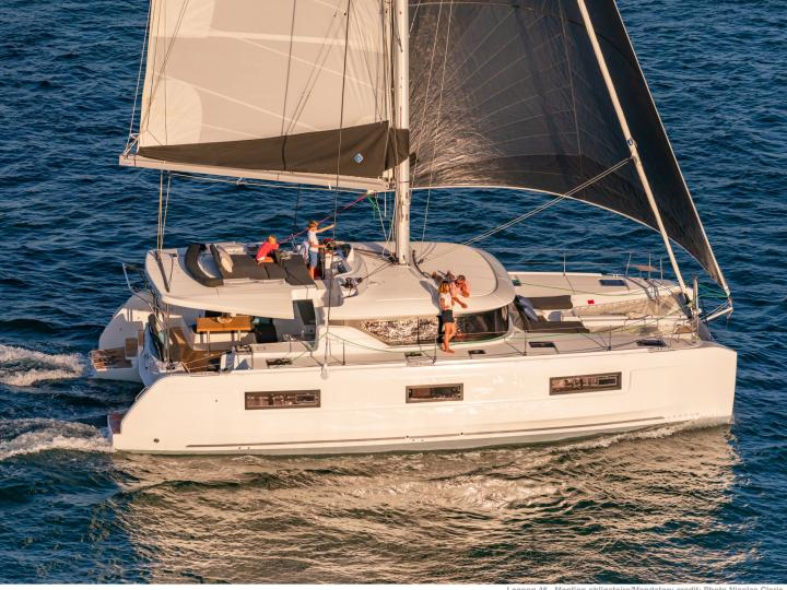 NN 34 - a 46ft catamaran for rent in Road Town, BVI. Enjoy a gorgeous yacht charter for 8 guests.