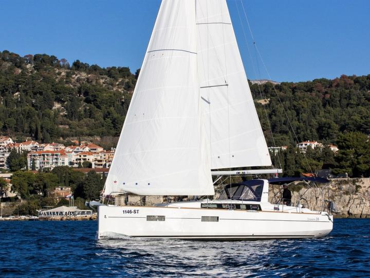 Sailing charter in Split, Croatia - rent a sail boat for up to 6 guests.