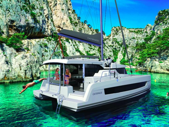 Private boat for rent in Le Marin, Caribbean Netherlands, for up to 8 guests.