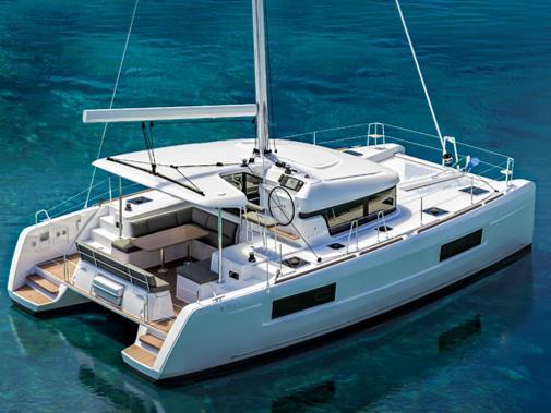 Charter a luxurious catamaran sailboat in Croatia, Split region - the AMALIA II a sailing adventure for 8 guests.