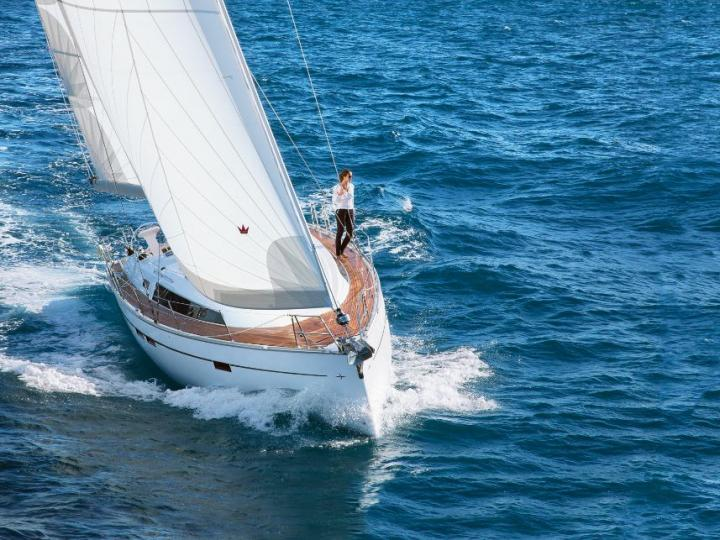 Rent a sailboat in Tonnarella, Italy for up to 8 guests - a wonderful yacht charter.