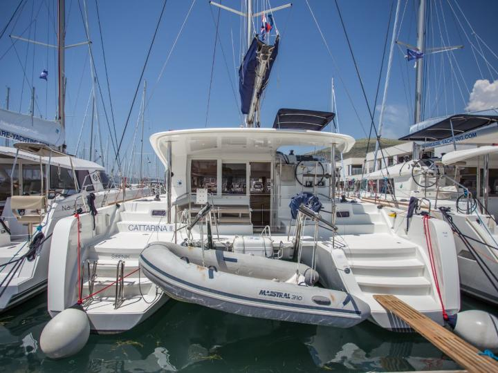 Rent a boat in Trogir, Croatia and discover boating in Dalmatia on a catamaran.