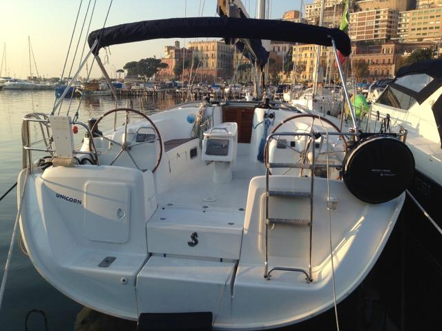 Sail on a beautiful 51ft sail boat for 8 guests in Napoli, Italy - the ultimate vacation trip on a yacht charter.