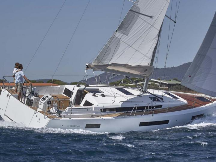 Charter a sail boat in Portisco, Italy, for a perfect vacation on a boat.