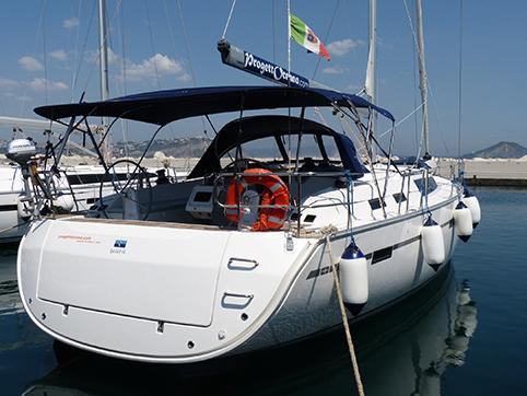 Sail around Procida, Italy on a rental sail boat - the amazing Lussi yacht and discover sailing.