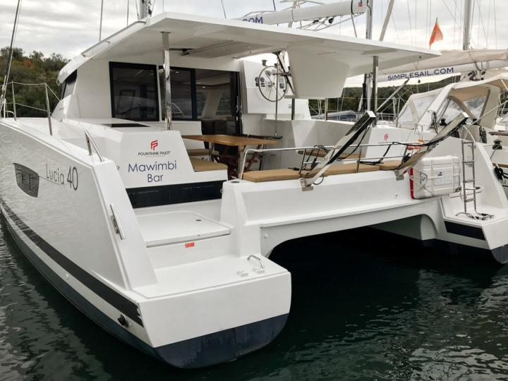 Beautiful boat for rent in Tivat, Montenegro - the Mawimbi catamaran charter.