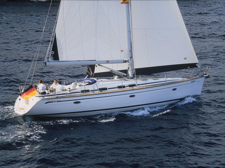 Sail boat rental in Tonnarella, Italy for up to 8 guests.