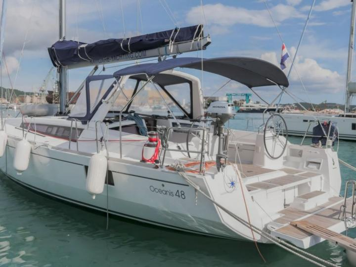 Boat for rent in Trogir, Croatia. Enjoy a great yacht charter for 8 guests.