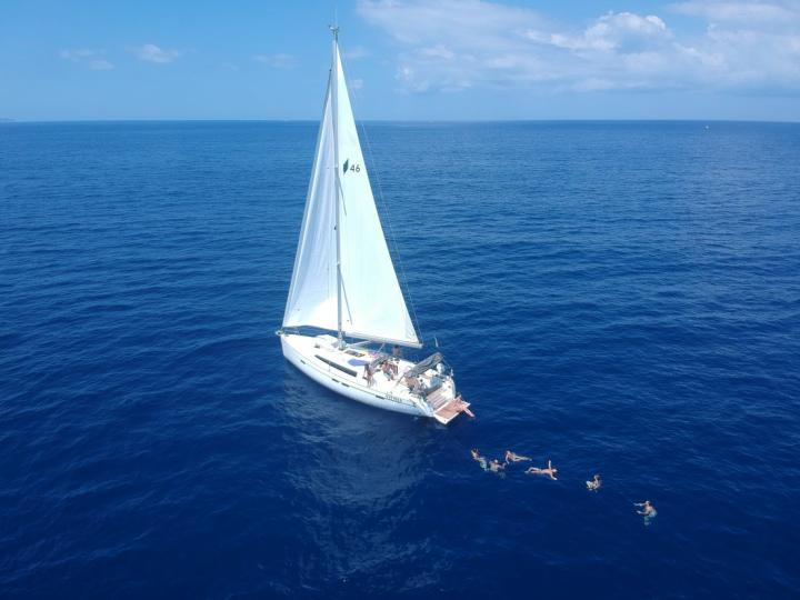 San Vincenzo, Italy yacht rental - charter a boat for up to 8 guests.