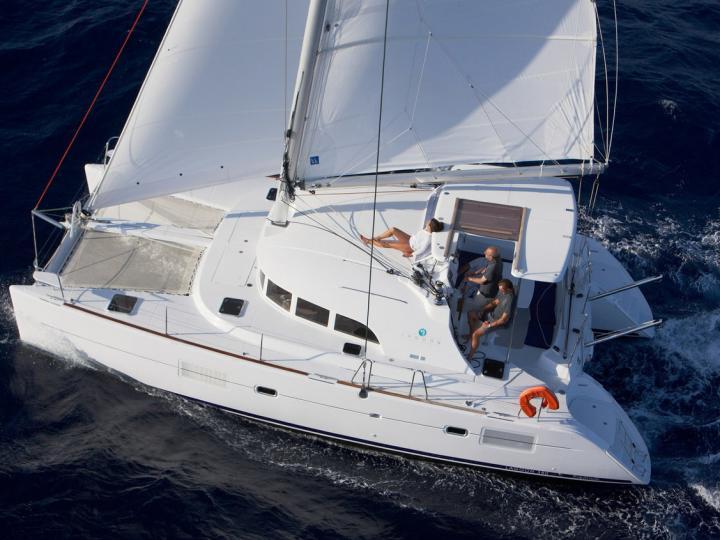 Top yacht charter in Šibenik, Croatia - rent a catamaran for up to 8 guests.
