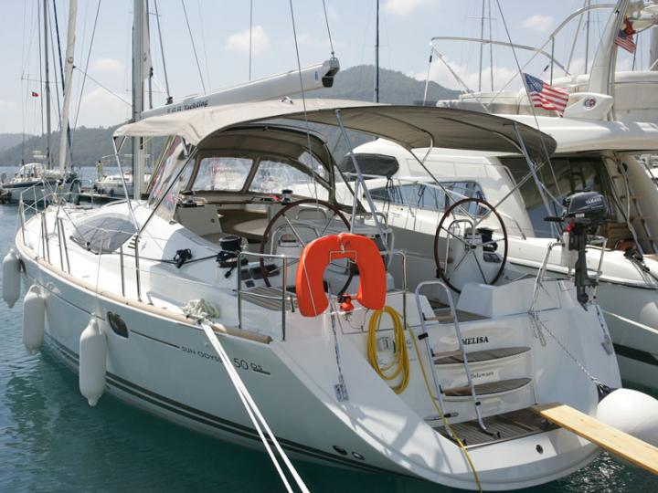Yacht charter in Göcek, Turkey, for up to 6 guests.