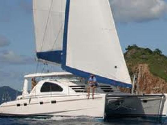 Rent a catamaran in Marmaris, Turkey.