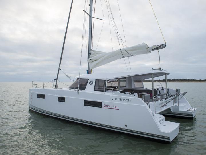 Charter a catamaran in Split region in Croatia - the Pura Vida for 9 guests.