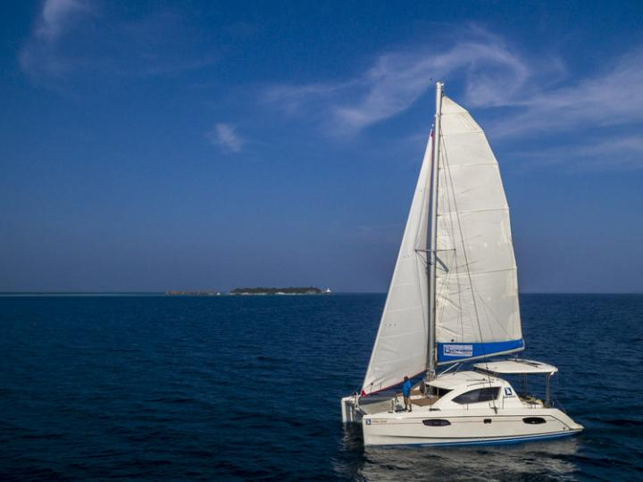 Affordable catamaran for rent in Hulhumale, Maldives.
