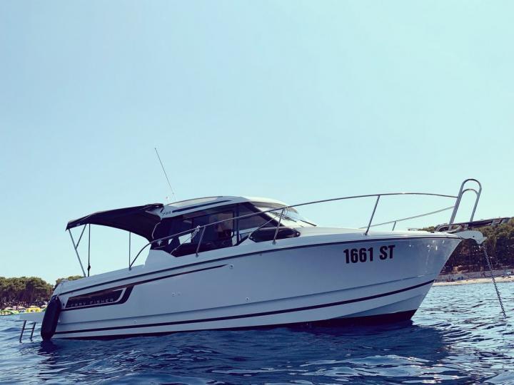 Rent a power boat in Split, Croatia.