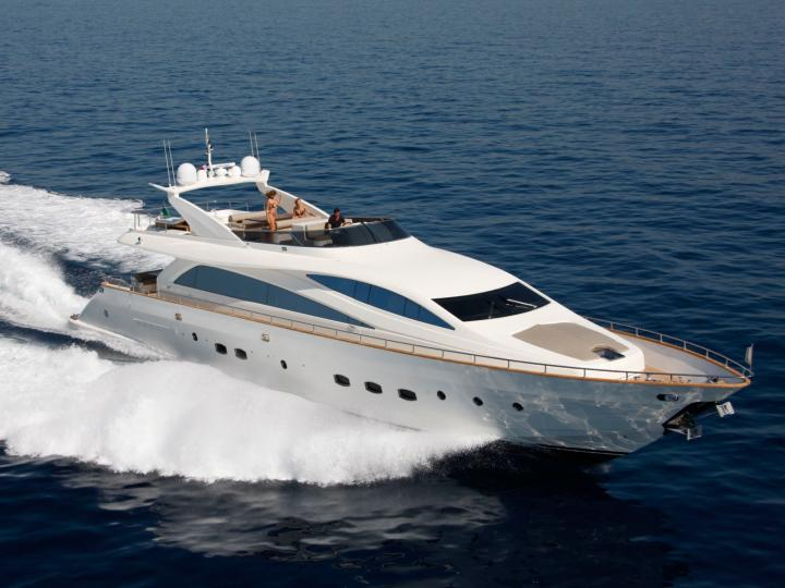 Rent a 92ft Mega yacht in Pireas, Greece and enjoy a yacht charter trip like never before.