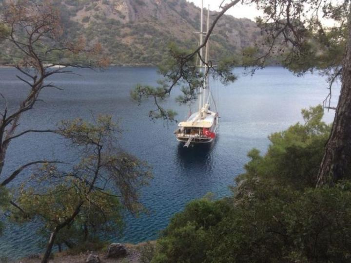 Affordable gullet for rent in Bodrum, Turkey.