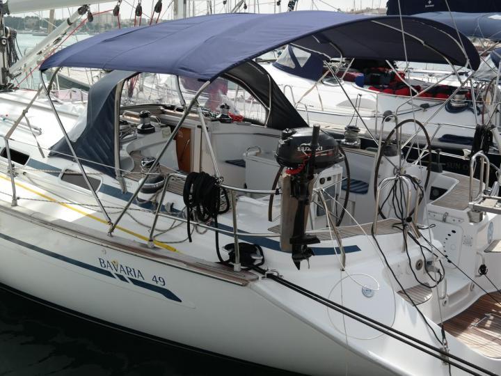 Rent a sailboat in Portocolom, Spain - the Odin boat.