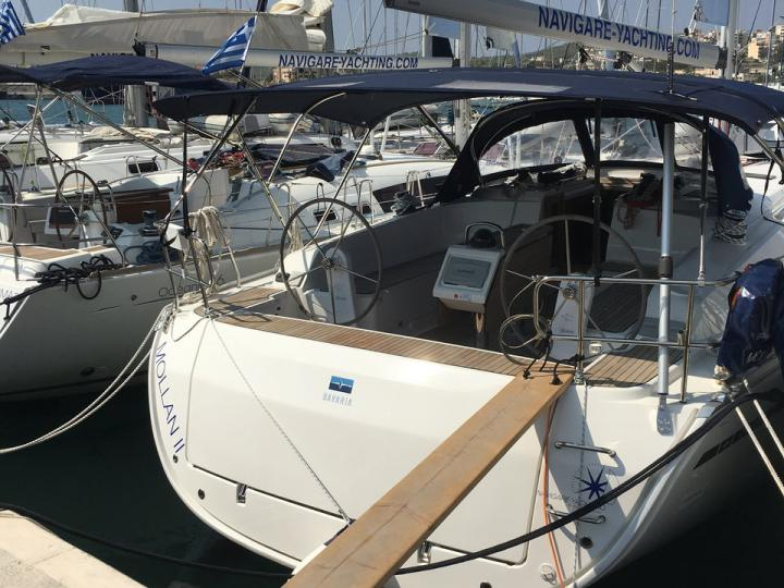 Sailboat rental in Elliniko, Greece - a yacht Mollan II for up to 8 guests