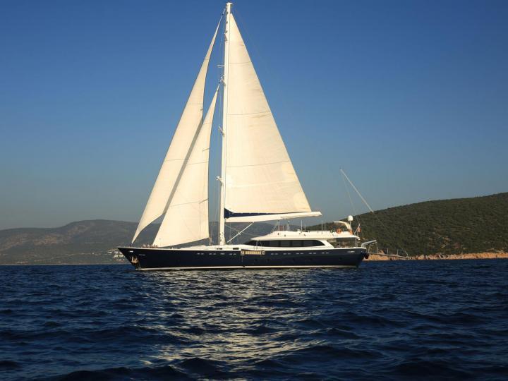 Ultra Luxury Gulet Yacht For rent in Turkey