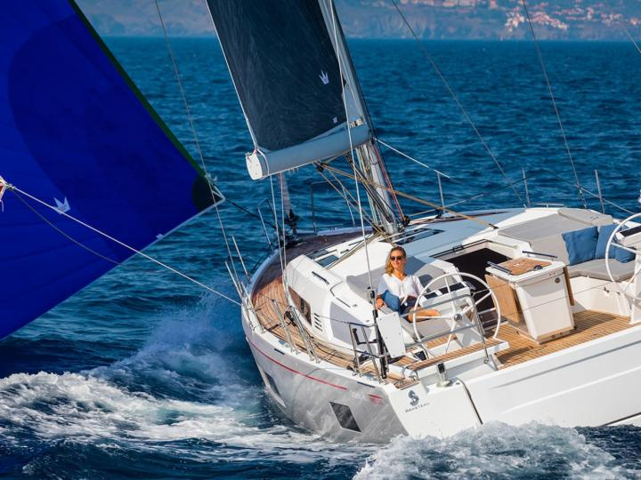 Sail on a yacht in Palma de Mallorca, Spain - the ultimate vacation trip on a yacht charter for 8 guests.
