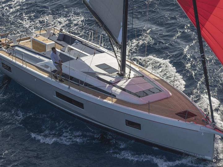 Rent a sail boat in Cala D'or, Spain - the Avocado yacht charter.
