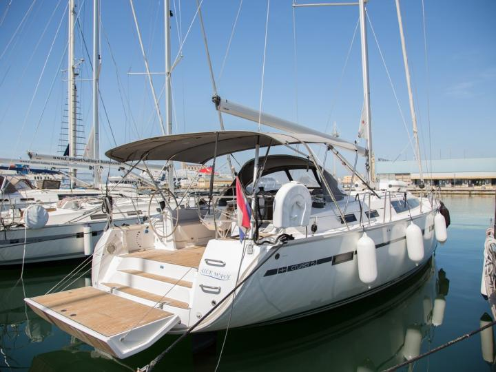 Sail on a beautiful 51ft sail boat in Portisco, Italy - the ultimate vacation trip on a yacht charter for rent.