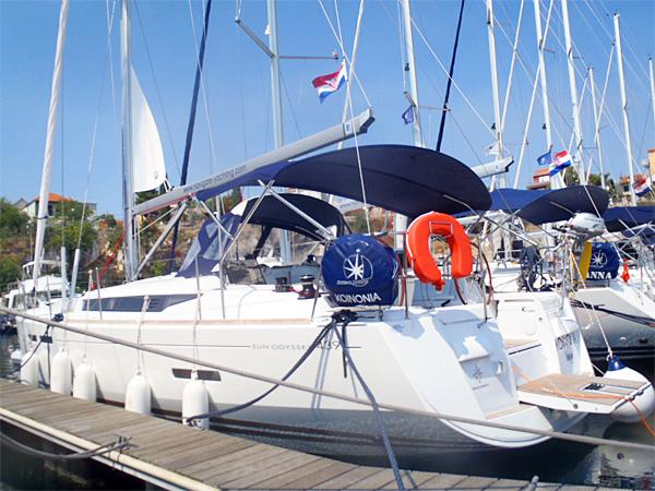 Sail on a rent-a-boat in Trogir, Croatia - the ultimate vacation trip on a yacht charter for 8 guests.