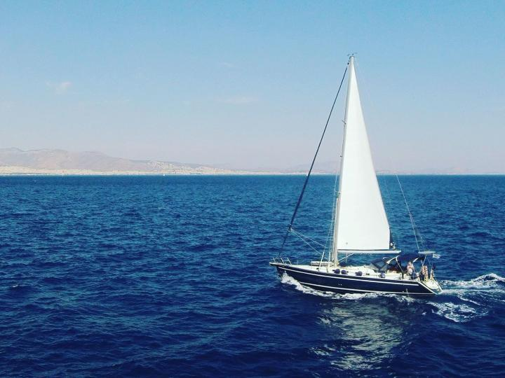 Sail in Greek waters aboard the Stavroula boat