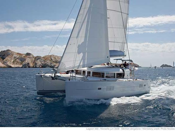 Rent a 39ft catamaran near Zadar, Croatia and enjoy a wonderful yacht charter.