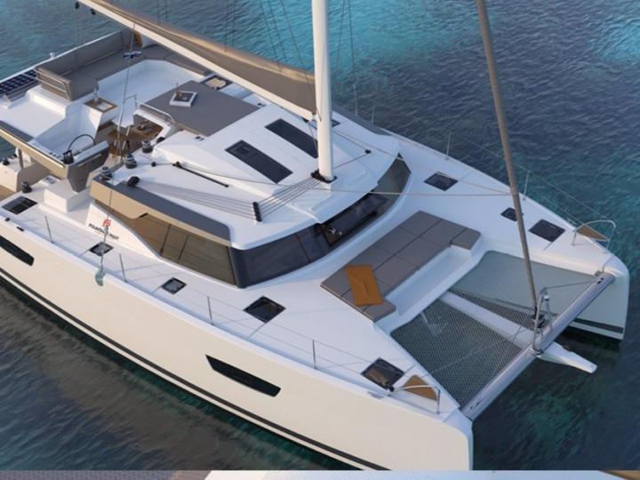 Rental catamaran in Scrub Island, British Virgin Islands
