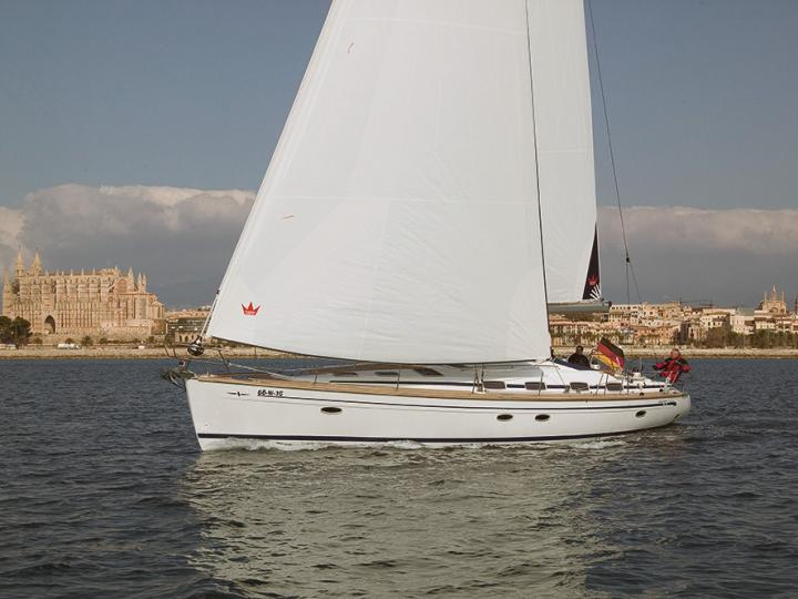 Rent a boat in Sicily, Italy - the Clarin Oyster yacht charter for 10 guests.