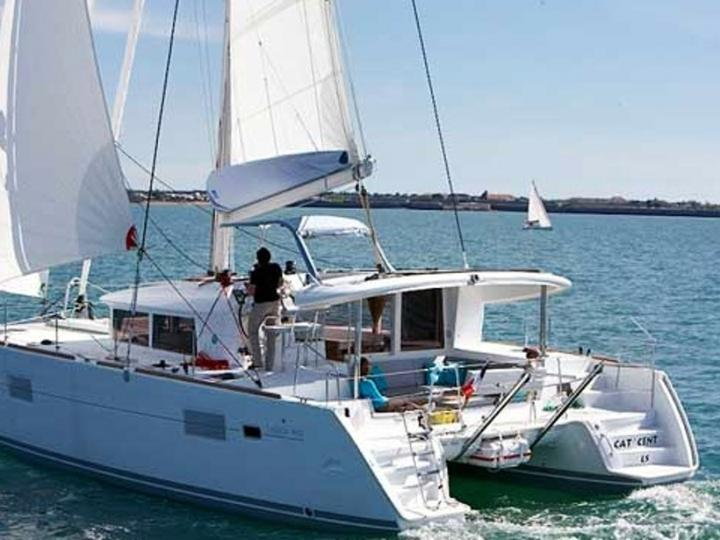 Sail on a catamaran charter in Croatian waters of Adriatic sea - the ultimate unique vacation trip for 6 guests.