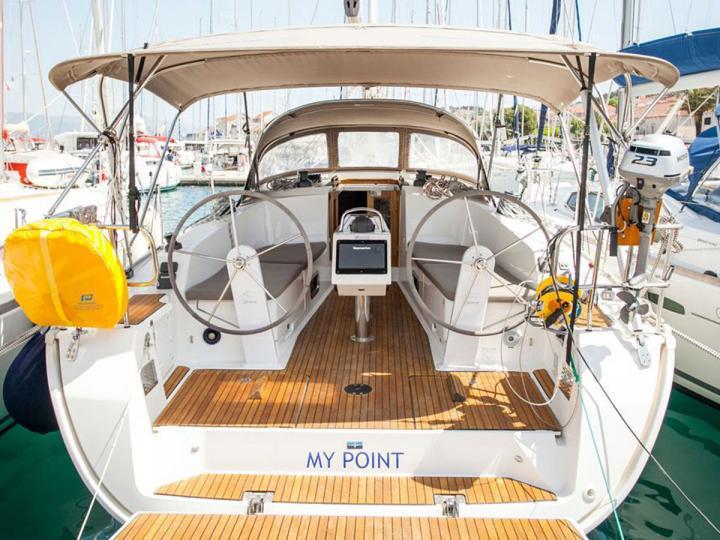 Sailboat rental in beautiful area of Split, Croatia.