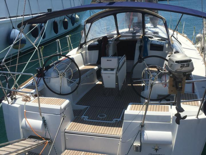 Charter a yacht in Elliniko, Greece - the Sankt Anna for 8 guests.